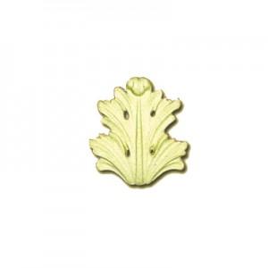 Fregio foglia in Pasta Legno cm 5x6