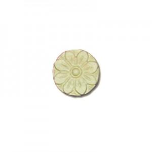 Fregio Fiore in Pasta Legno cm 4
