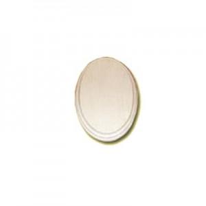 Base ovale in legno - cm 16x11