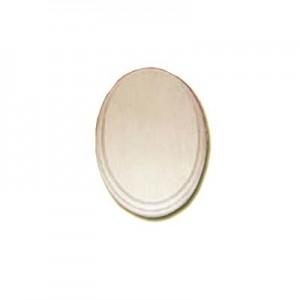 Base ovale in legno - 20x13cm