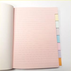 Interno Quaderno Ricette Multicolor cm 21x15cm