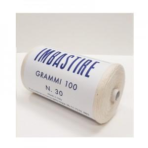 Filo imbastire Bianco 100gr - scatola 10 rotoli