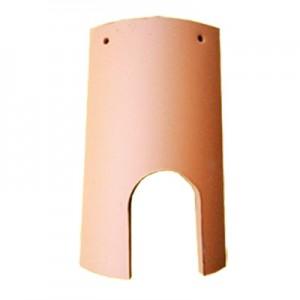 Tegola terracotta con porta cm 22x14x12 - scatola da 2pz