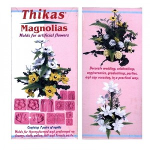 Stampi per Fommy Magnolias Contiene 7 Paia di stampi