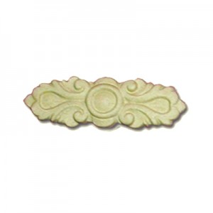 Fregio in Pasta Legno 10x3 cm