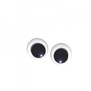Occhi Mobili Rotondi - . m/m 30 - Busta da 100 pz
