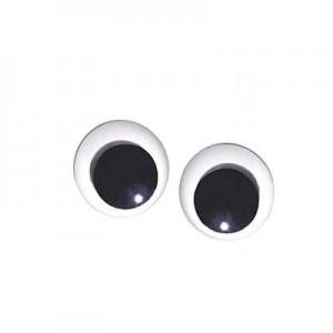 Occhi Mobili Rotondi - . m/m 40 - Busta da 50 pz