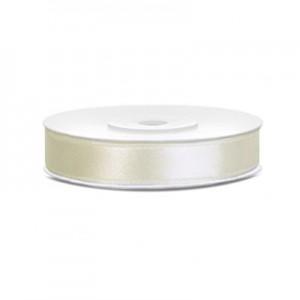 Nastro Doppio Raso Bianco Latte - 16mm - rotolo 50mt