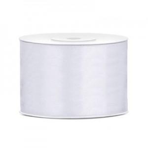 Nastro Doppio Raso Bianco - mm 48 -  Rotolo da 25 mt