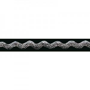 Passamaneria Argento Lurex m/m 6 - Pezza da 20 mt