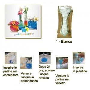 Perle d'acqua gel Idrogel confezione 100 gr