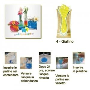 Perle d'acqua gel Idrogel confezione 50 gr