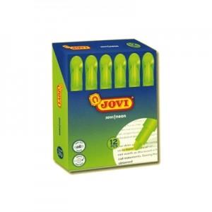 Evidenziatore Gel verde Fluo - scatola 12 pz