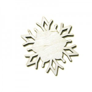 Decorazione fiocco di neve   -  cm 10