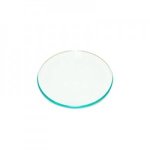 Piatto rotondo in vetro cm 25 - confezione da 6 pz*